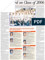 Report Card on Class of 2006, 21 Mar 2009, Straits Times