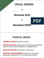 Revew-Tropical Design Lecture
