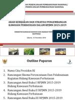 Arah Kebijakan dan Strategi Pengembangan Kawasan Perbatasan dalam Rancangan Awal RPJMN 2015-2019