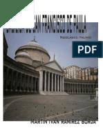 La Basílica de San Francisco de Paula Está Ubicada en Nápoles Martín Iván Ramírez Borja