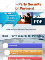 Third - Party Security for Payment