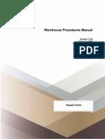 Warehouse Manual