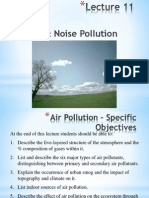 Lecture 11 Air Pollution