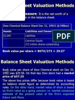 Ch 18 EqtyValuation