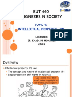 KM EUT440 LAW 4 Intellectual Property