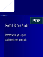 Tuesday Workshop 5-Store Audits