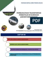 Pembangunan Transportasi Perkotaan di Kawasan Jabodetabekpunjur