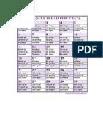 Workout Plan Untuk Perut Rata