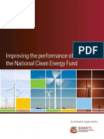 Improving the Performance of the National Clean Energy Fund