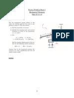 Practice Problem Sheet