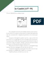 chess publishing - benko gambit a57-59