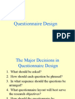 Questionnaire Design.ppt