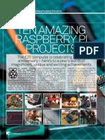 10 Amazing Raspberry Pi Projects