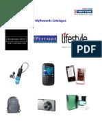 HDFC Credit Card Rewards Catalogue (Rev-27th Mar12)