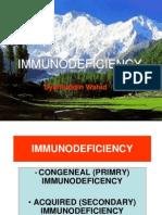 Immunodeficiency.