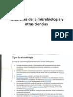 Relaciones de La Microbiologia Con Otras Ciencias, Tnaxonomía y Tinciones