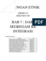 Fullnotes - Dari Segregasi Ke Integrasi
