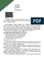 Potvrdenie Knihy Svetla, Slovanske Ponimanie Sveta