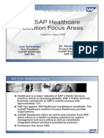 Mysap Healthcare Focus Areass