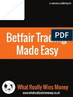 Betfair Trading Made Easy