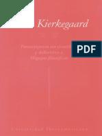 S.K. Postcriptum No Cientifico y Definitivo a Migajas Filosoficas
