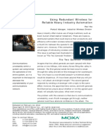 Moxa White Paper---Using Redundant Wireless for Reliable Industrial Automation
