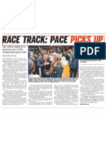 Race Track Pace Picks Up, 19 Mar 2009, Straits Times