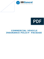 90.Commercial Vehicle Insurance Policy - Package