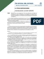 Procedimiento y Plazo de Presentación de Solicitudes de Evaluación de La Actividad Investigadora