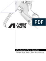 AIUS102G Manual Parts Catalog Anest Iwata