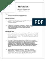 mark smithperfect resume 14-12-3
