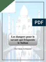 Les Dangers Pour Le Savant Qui Frequente Le Sultan