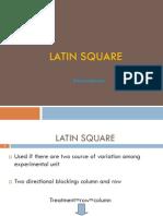 Vi. Latin Square