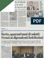 #Berto40 Stampa