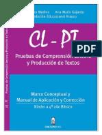 Manual Resumen CLPT Kinder a 4 basico