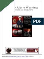 Smoke Alarm Warning - NEOFPA