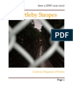 Bartleby Snopes Issue 3 January 2010