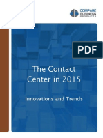 Top Contact Center Trends for 2015
