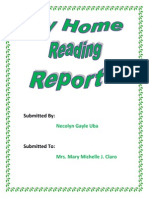 Home Reading Report two