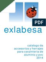 EXL Sistemas Tecnicos de Herrajes 2014