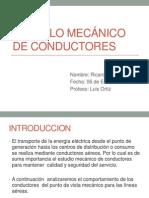 Calculo Mecánico de Conductores