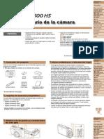 PowerShot SX600HS Camera User Guide ES