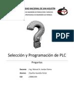 PLC - Preguntas