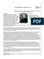 Joseph Goldbergers Research on the Prevention of Pellagra