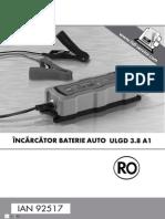 Incarcator Baterie Auto ULGD 3.8 A1