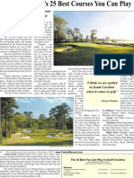 Top 25 Golf Courses You Can Play in South Carolina