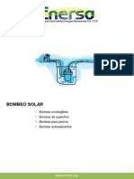 Catálogo de Bombas Solares