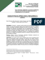 CIENCIA / TECNOLOGIA/ SOCIEDAD/ AMBIENTE