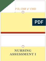 PCAP D, CHF 2 CHD