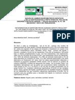 DETERMINACIÓN DE CAMBIOS MORFOMETRICOS HEPÁTICOS RESULTANTES DE LA SUSTITUCION EN LA DIETA DIARIA DE POLLOS DE ENGORDE CON FALSO GIRASOL ( Tithonia diversifolia) AL 4% EN INICIACION Y UN 8% EN FINALIZACION